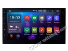 WITSON Android 5.1.1 7 ''полный-touch автомобильное планшетный ПК Автомобильный GPS для Универсальный двойной DIN Quad Core 16 ГБ флэш-+ 1024x600 HD + Зеркало Ссылка No name 32569701596