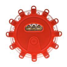 9 режимов Красный луч светодиодный Предупреждение индикатор для автомобиля Блокпоста Ночная езда маяк аварийного Строб мигает SOS лампа LAIDEYI 32869247126