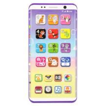 Развивающие игрушки детям телефонов дети смартфон игрушки с USB Порты и разъёмы Сенсорный экран 2018 английского языка развивающие игрушки для детей YOSOO 32907207310