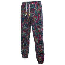 Мужская одежда мужские повседневные винтажные брюки на шнурке мужские брюки с принтом большого размера свободные мужские брюки льняные повседневные брюки 2019 No name 32394205428