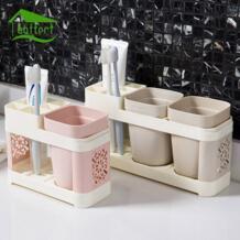 Новая Ванная комната Зубная щетка чашка Зубная паста держатель для зубных щеток Костюмы Для Ванной Набор Творческий мыть чашки кисточки чашки семья ванная комната инструменты baffect 32849334289