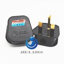 Черные туфли высокого качества 3 Булавки Великобритания Сетевой Топ Plug 13a прибор Мощность гнездо предохранителя адаптер бытовой, 1 шт. JORINDO 32812380665
