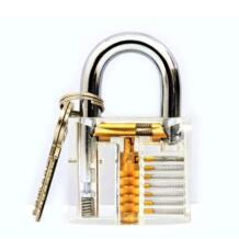 1 шт. вырезом внутри вид практика прозрачный замок обучение навык Палочки вид замка для слесаря с Smart ключи Kitbakechen 32809003022