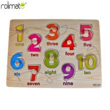 Rolimate Делюкс классический деревянный паззлы Комплект Форма/номер игрушки No name 32871566130