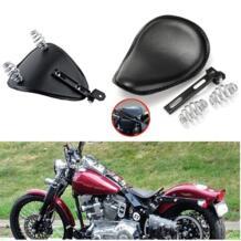 """Черный 3 """"Весна кронштейн Solo сиденья для Harley Bobber Chopper Пользовательские кафе гонщик No name 32844180586"""
