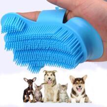 Простой щетки для домашних животных перчатка для чистки собак перчатка для купания для Животные Deshedding кисть для удаления щетка для шерсти домашних животных и набором инструментов для чистки PUGGA 32869175444