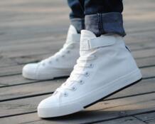 2017 классический низкий/высокий Стиль Мужская парусиновая обувь без каблука Обувь мужской высокой помощь Сандалии для девочек дышащие Обувь для отдыха No name 32564141406