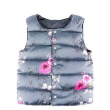 Жилеты для девочек с цветами сливы, новая осенняя модная одежда для маленьких девочек, жилет, пальто, одежда для маленьких девочек, костюм принцессы для детей, жилет JOMAKE 32880658226