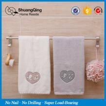 Волшебные наклейки максимальная нагрузка 5 кг без ногтей без дрель алюминиевая полотенце Бар Кухня банное полотенце держатель для ванной вешалка для полотенец с молния No name 32734073585