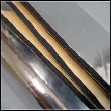 1 шт. 1.4 м Длина Универсальный подходит для автомобиля Дверные рамы крыши Двигатели для автомобиля тепла Шум проверки шумоизоляция изоляции Коврики 4 мм alumium редукторы No name 32842157065
