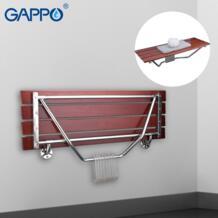 GAPPO настенный душевой стул для ванной комнаты складной стул для детский туалет складной душевой стул для ванной Душевой стул Cadeira стул для ванной No name 32958039218