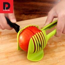 Dehomy ручные Слайсеры помидорорезка фруктов нож для помидоров устройство для нарезки лимона помощник бездельничали прихватка для приготовления пищи Кухня инструменты аксессуары No name 32856160978