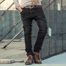 Бренд Для мужчин s джинсы тонкий прямой Эластичные штаны джинсовые брюки джинсы для Для мужчин дизайн Осенне-зимняя обувь высокое качество джинсы k658 MIXLIMITED 32733014994