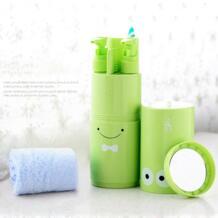 5 шт./компл. Творческий портативный держатель зубной щетки аксессуары для ванной комнаты ящик для хранения в путешествии чехол зубная щетка чашка органайзер для зубной пасты jusenda 32848389793