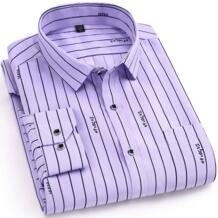 Новинка 2019 года, весенние мужские рубашки в стиле кэжуал, модные, с длинными рукавами, брендовые, с принтом, на пуговицах, формальные, деловые, в горошек, с цветочным принтом, мужские рубашки Muful&Vamdy 32504760579
