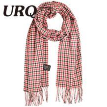 Бренд дизайн мужские классические кашемировые Шаль Зима теплая длинная бахрома Полосатый кисточкой шарф A3A17737 URQ 32764084003