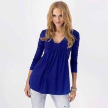 Лидер продаж Одежда для беременных v-образным вырезом раза лук с длинными рукавами, свободные футболки для беременных Для женщин футболки для беременных Топы BONJEAN 32861266810
