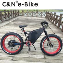 2018 крутой дизайн 72 v 5000 W Fat Tire E-bike Электрический горный велосипед/электрический велосипед/Enduro ebike No name 32817890143
