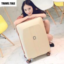"""Путешествия сказка 20 """"24"""" 26 дюймов багаж тележка с колесами Ретро чемоданы для девочек No name 32847023343"""