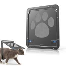Adeeing Dog Footprint узор Pet Cat двери окна, двери экран собачка лоскут домашних животных No name 32888370506