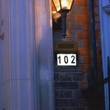 Дом номер Открытый прочный Doorplate лампа Huisnummer отель номер двери знак светодиодный свет адрес знак Дом отель Продажа No name 32974144461
