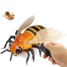RC игрушки пчелки дистанционное управление макет поддельные fly шалость насекомых шутка страшный Tricky Божья коровка ошибка весело RC животных игрушка для Д Sbego 32901434121