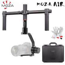 MOZA Air 3-осевой Карманный шарнирный стабилизатор для камеры GoPro Dual чехол с ручками для цифровой зеркальной камеры Canon Nikon SONY A7 камеры нагрузки 3,2 кг VS Zhiyun Crane V2 плюс No name 32815284326