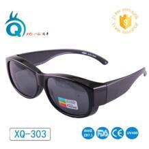 Очки для спорта на открытом воздухе поляризованные линзы охватывает солнцезащитные очки подходят более солнцезащитные очки носить за очками No name 32426340315