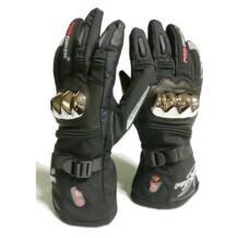 Новый Лыжный спорт перчатки с подогревом двигателя для верховой езды отопление перчатки анти-капля овчины Давление ветрозащитный Водонепроницаемый три уровня нагрева модель winna.etech 32850255497