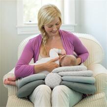 Подушка для кормления ребенка подушка для грудного вскармливания многофункциональные регулируемые подушки для мам Новорожденные анти-косы матрасы подушки JJOVCE 32834816240