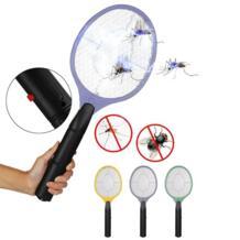Домашняя электрическая мухи комары ошибка электронная мухобойка москитная убийца защитная сетка Беспроводная Анти Москитная Ловушка использование АА батареи dozzlor 33032048603