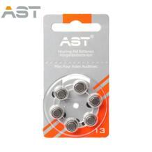 60pcsx Издательство АСТ слуховой аппарат батареи 13A цинк Air A13/P13/PR48 Батарея для слуховые аппараты BTE. Бесплатная доставка! 32803335020