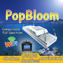 40-60 см SPS / LPS WiFi дистанционное управление привело аквариум свет высокий уровень проникновения dsuny аквариум свет симулировать восход / закат pecera No name 32673267518