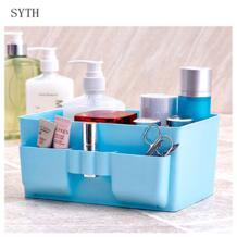 большой емкости косметический Органайзер для хранения косметики ящики для хранения бен пластиковый ящик для хранения рабочего стола разное моющийся дизайн Organizador SYTH 32858956273