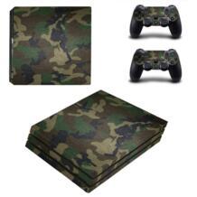 Аксессуары игры для Playstation 4 PS4 Pro игровой консоли наклейка кожи Наклейки + 2 предмета Наклейки для PS4 Pro контроллер No name 32775086223