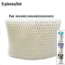 5 шт./партия Запчасти для увлажнителя воздуха hu4102 увлажнитель воздуха, фильтры, фильтр бактерий и Весы для Philips hu4801/hu4802/hu4803 No name 32812533015