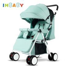 IM детская коляска 4,2 кг путешествия легкая коляска с высоким ландшафтом большая спальная корзина коляска IMBABY 32914358715