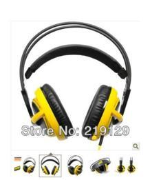 Steelseries Siberia V2 гарнитура для геймеров и аудиофилов наушников желтый бесплатная доставка прямая поставка 1 шт. No name 1596151092