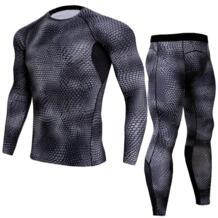 Для мужчин Pro быстросохнущая сжатия кальсоны для женщин фитнес зима Gymming мужской демисезонный спортивные работает тренировки термо PADEGAO 32849286392