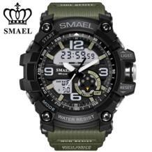 Цифровые часы мужские военные армейские спортивные часы водонепроницаемые Календарь даты светодиодные электронные часы relogio masculino montre homme SMAEL 32802609576