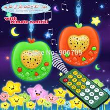Новый арабский Язык дистанционный пульт apple обучения Священный Коран обучение автоматические проигрыватели исламские игрушки, дети образования Исламская игрушка No name 32671536743