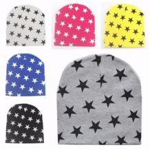 Звезда детские зимние шапки хлопковый шарф шапочки кепки вязаный крючком Вязаные шапки шарфы, шапочки touca infantil Для 0,5-3 лет FAITOLAGI 32703576806