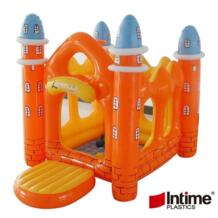Домашний надувной батут мини парк развлечений для маленьких детей Подарки играть дома Оборудования Замок озорной форт импортные ПВХ No name 32869320157