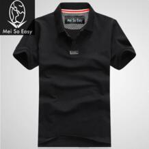 Новое поступление; стильные летние Мужская одежда футболка толстые большой лейбл пол с коротким рукавом Купальник екстра плюс размера, XXL.3XL. 4XL. 5XL. 6XL. 7XL. 8XL No name 1508262178
