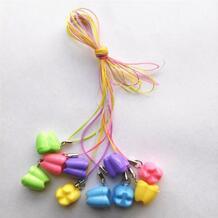 10 шт. многоцветный молочный зуб Коробка для ребенка зуб Коробка детская футляр для зубных протезов подарок от зубной феи BPBYKK 32510925093