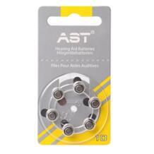 60 штук АСТ высокая производительность батареи слухового аппарата A10 10A ZA10 10 S10 PR70 цинко-Воздушный Аккумулятор для слуховых аппаратов 32801110871