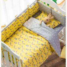 3 шт. Nordic стиль комплект постельного белья детский сад детская кровать Постельное белье 100% хлопок белье для детской кроватки включают простыни набор пододеяльн changbvss 32874478969