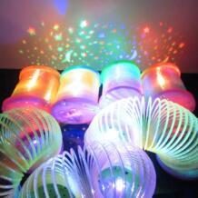 Горячая новинка и кляп игрушки Вспышка проекция Радужный круг Ранние развивающие светящиеся игрушки детские подарки на день рождения CXBEMTOY 32798365081
