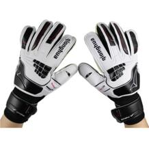 Free shipping Child soccer goalkeeper gloves professional Slip-resistant breathable latex teenage football for kids No name 1811548524