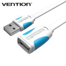 USB 2.0 удлинитель синхронизации данных зарядный кабель USB 2.0 дополнительный кабель для портативных ПК на женский для монитора карты читатель Vention 32810508858